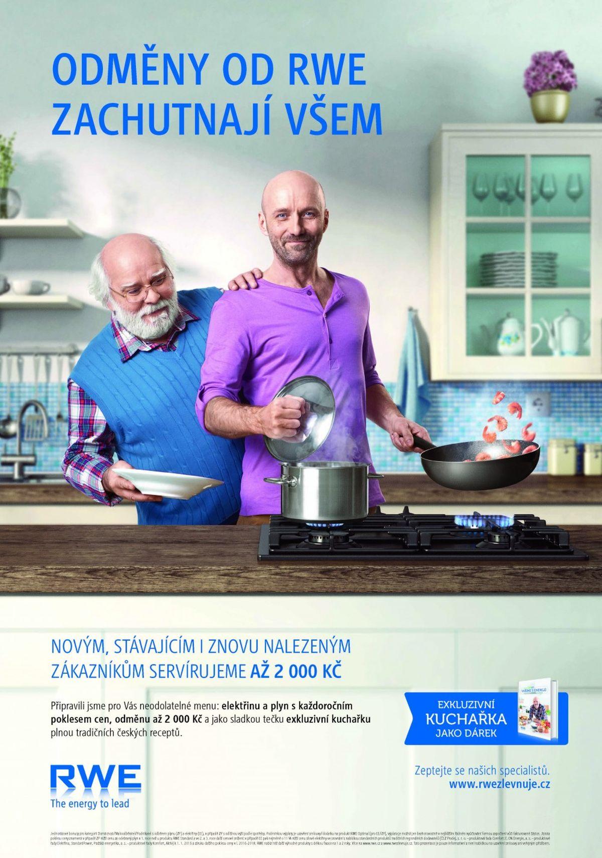 Kampaň RWE od agentur Young & Rubicam Praha a Wunderman