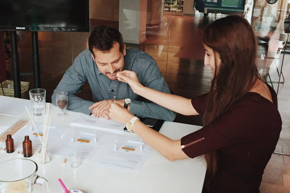 V agentuře Bistro se mimo jiné testují interiérové parfémy