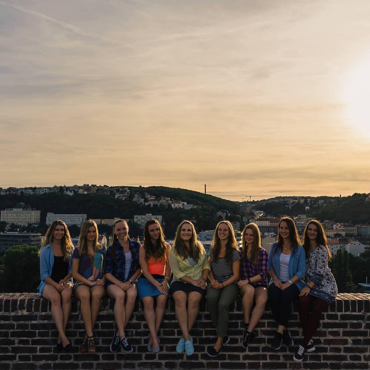 Kalendář Zlaté holky 2016. Fotografoval Hynek Hampl