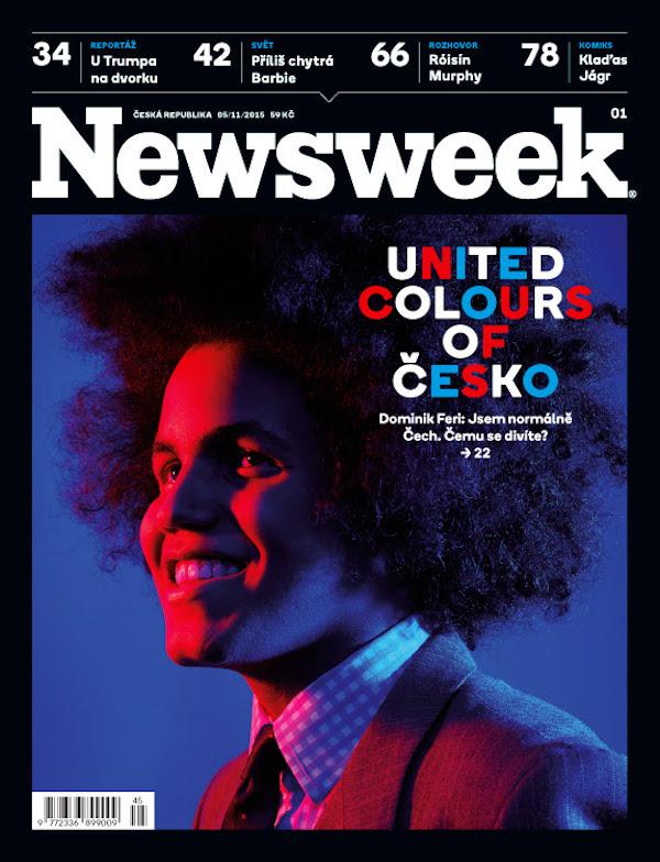 Na obálce prvního Newsweeku je mladý český politik Dominik Feri