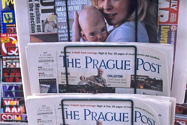 The Prague Post přestal na papíře vycházet v roce 2013. Foto: Profimedia.cz
