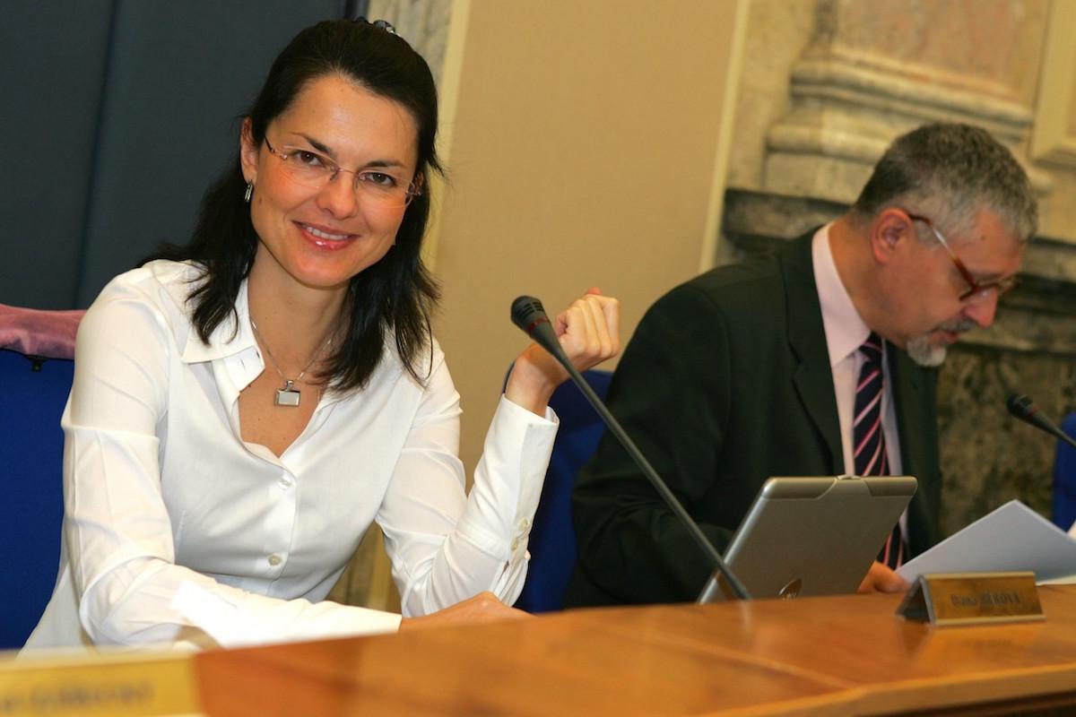 Dana Bérová v roce 2006 jako členka české vlády. Foto: Karel Šanda / Empresa Media / Profimedia.cz