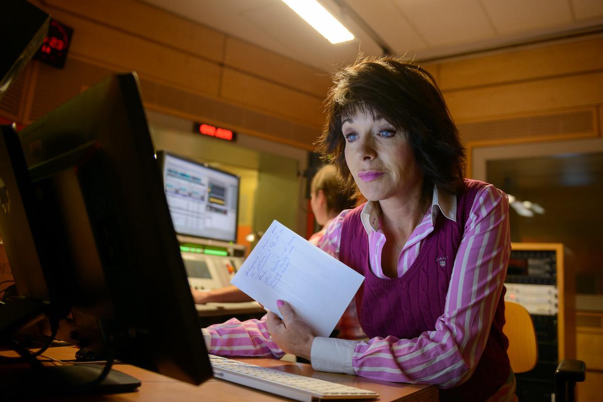 Hlavní moderátorka Barbora Tachecí. Foto: Khalil Baalbaki