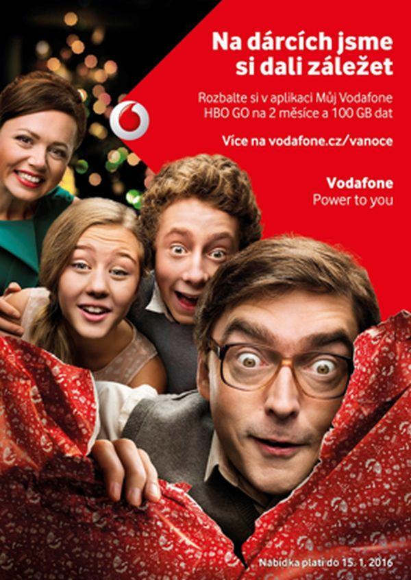 Vánoční kampaň Vodafonu startuje 16. listopadu
