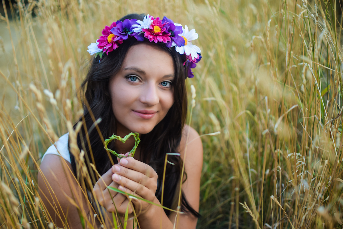 Kalendář Zlaté holky 2016. Fotografovala Martina Votrubová