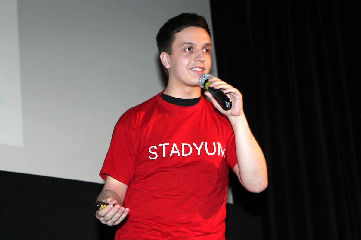 Prezentace aplikace Stadyum