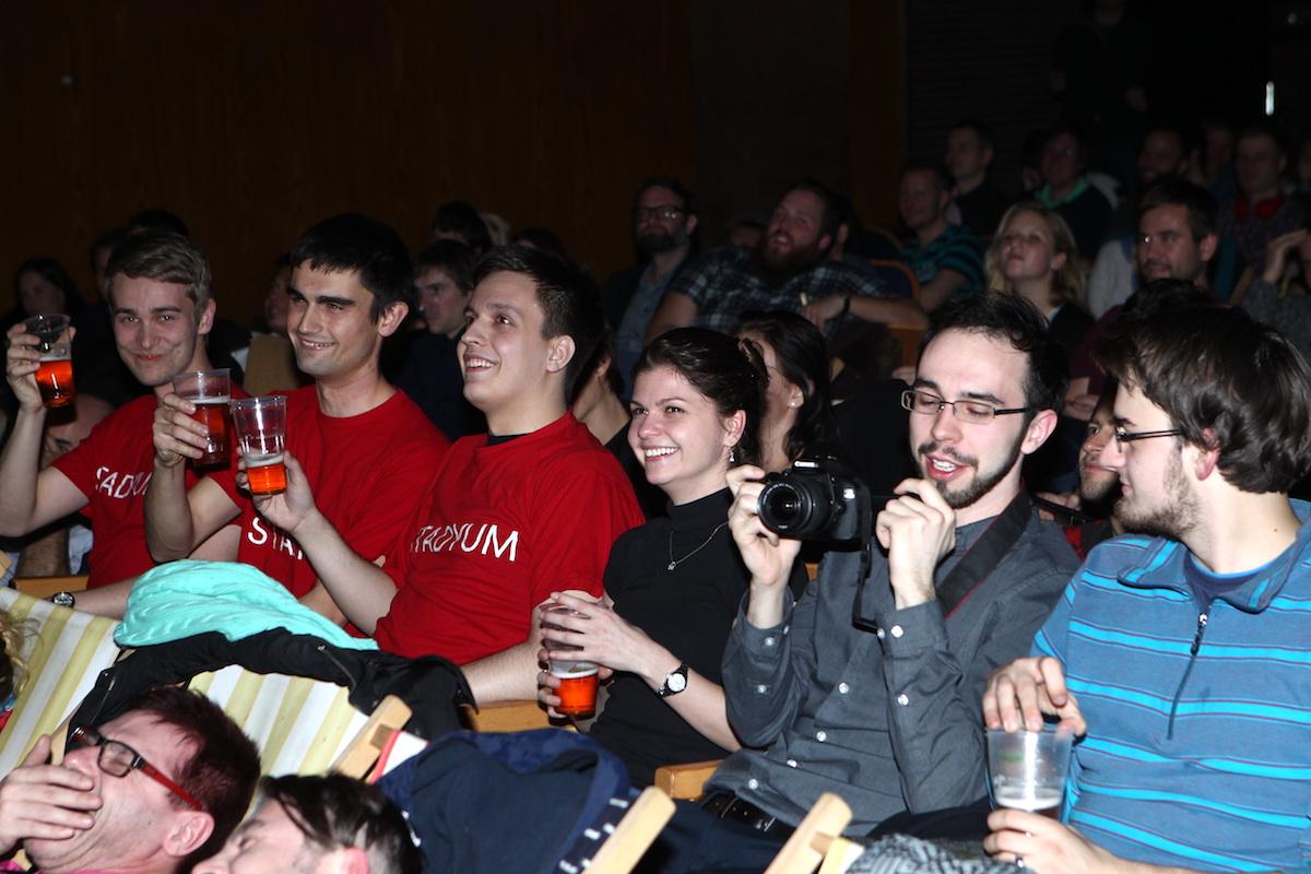 Publikum. Ono se baví