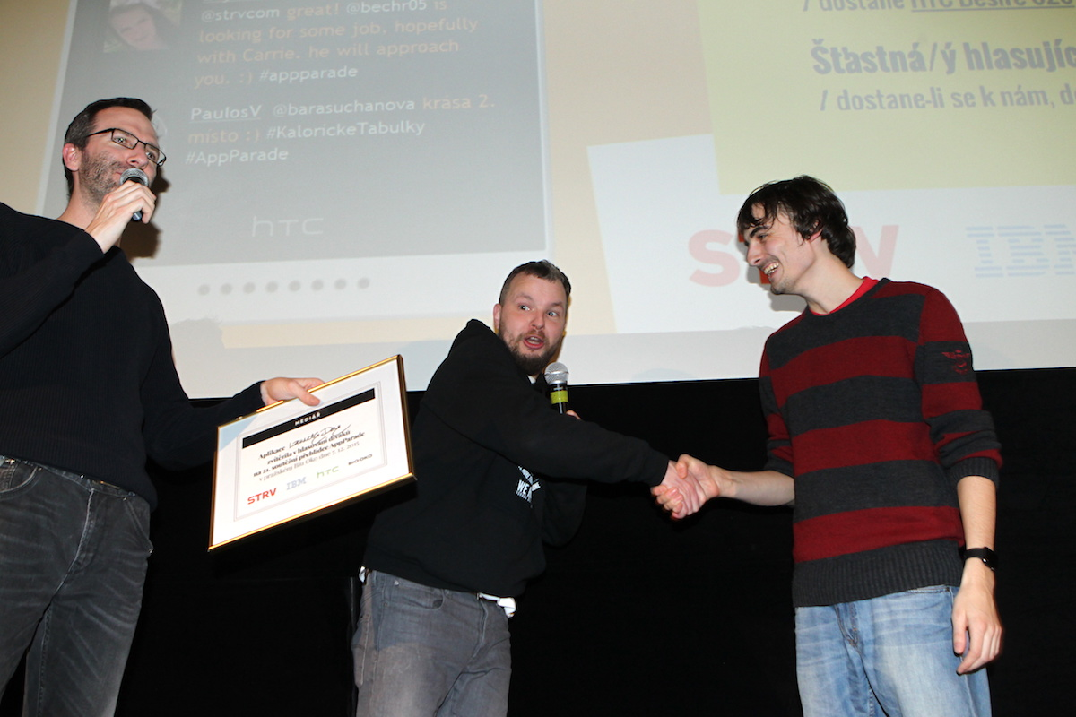 Vítěz Jan Plešek