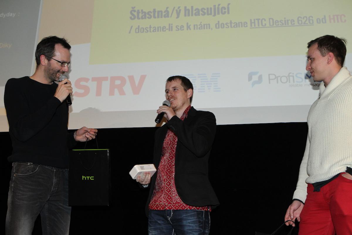 A to je další výherce telefonu od HTC, řečený Martin