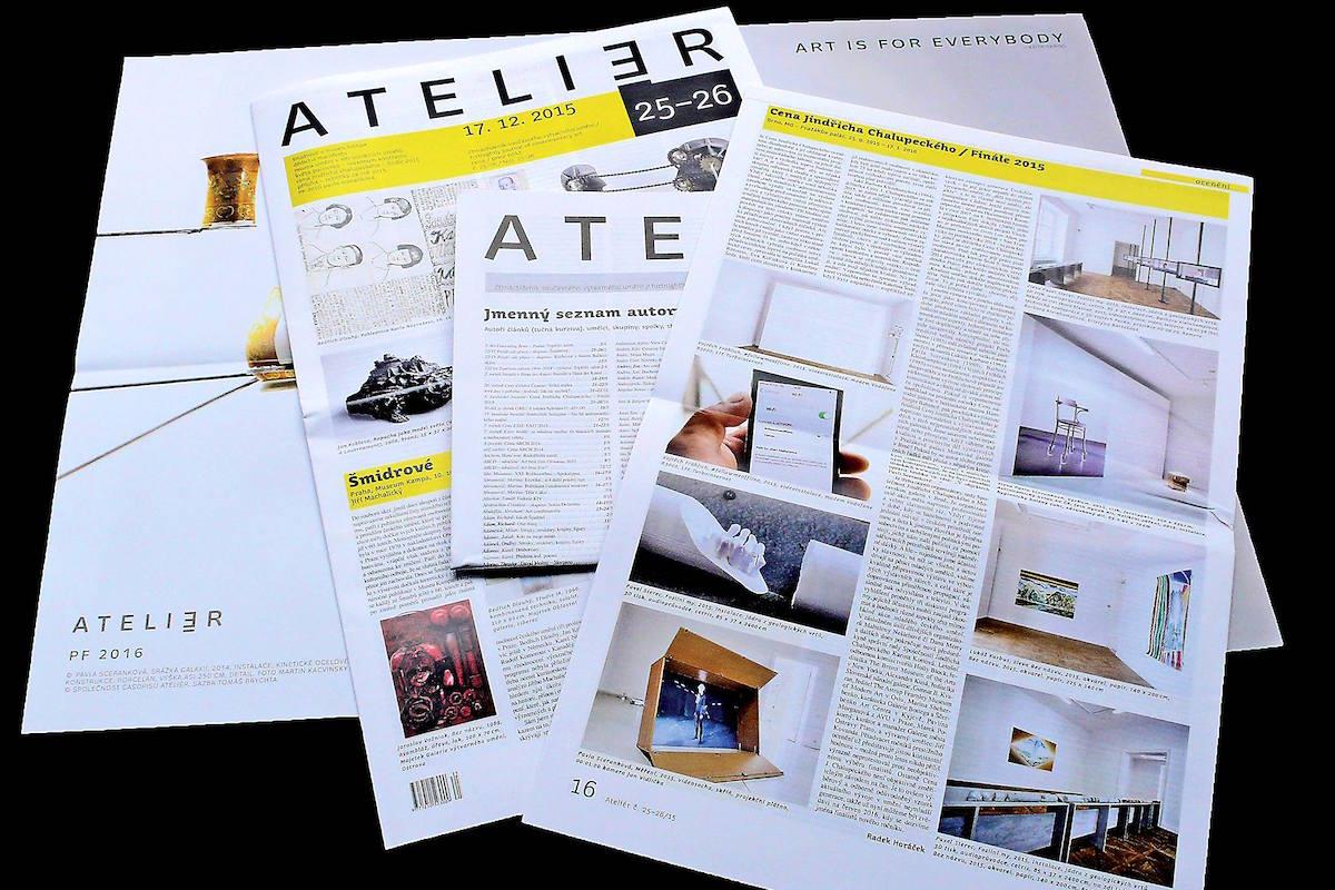 Poslední číslo Ateliéru vyšlo v prosinci 2015