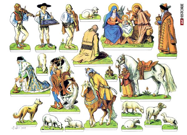 Betlém Mikoláše Alše v Živé historii