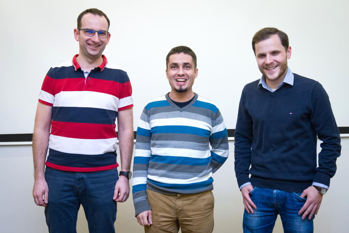 Zleva Michal Bilka, Jan Malý, Filip Bocek. Foto: Zuzana Tomková
