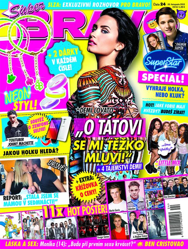Aktuální číslo časopisu Bravo. Repro: Bauer Media