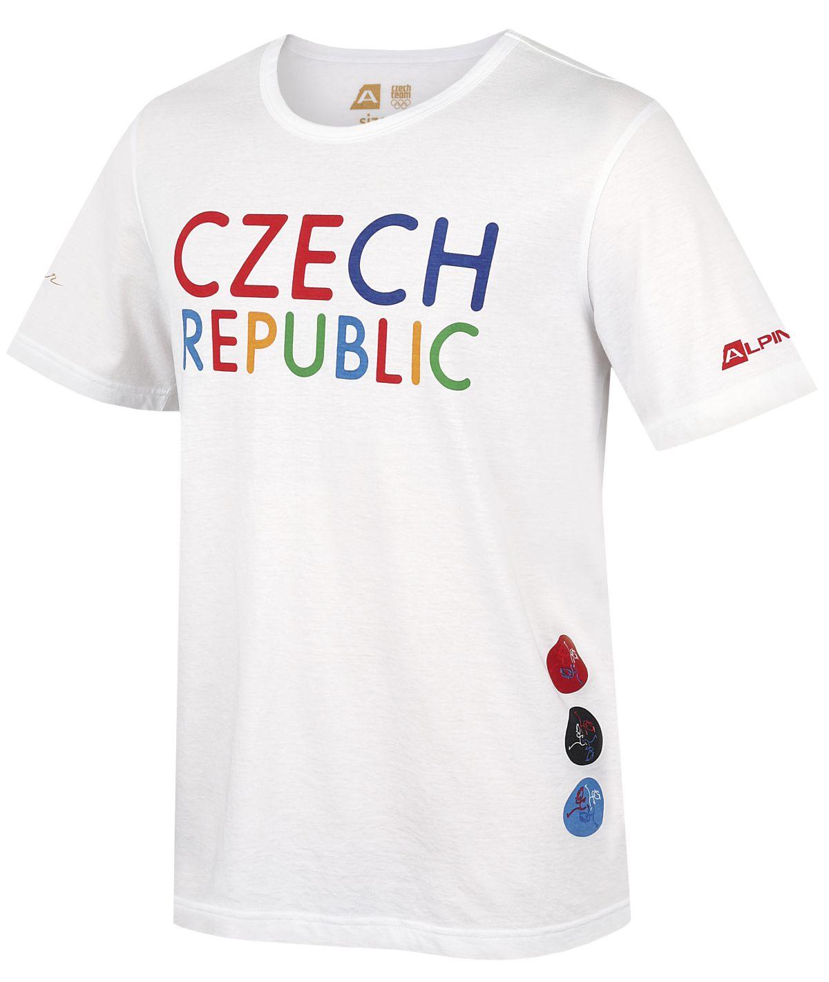 Triko českých sportovců pro letní olympiádu v Rio de Janeiru