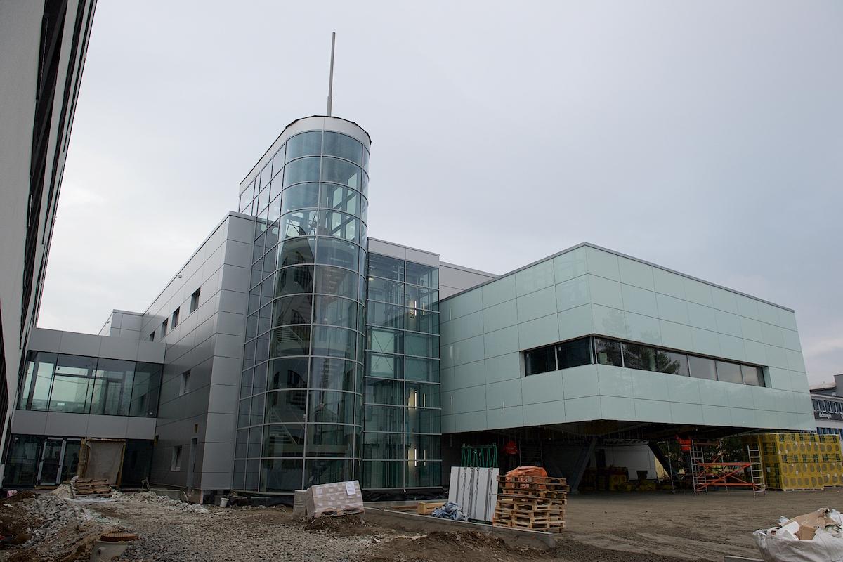 Budova nového studia České televize v Brně-Líšni. Foto: ČT