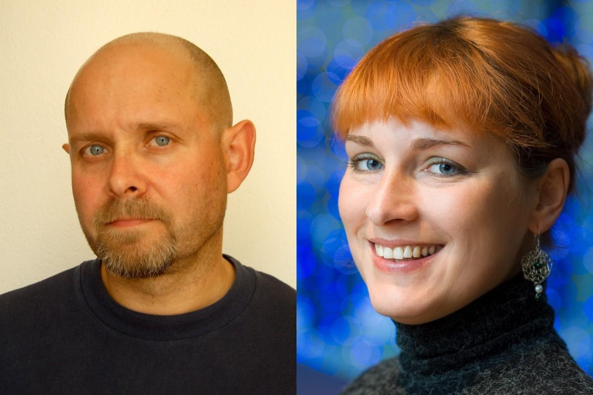Marek Hlavica a Radka Spiesová