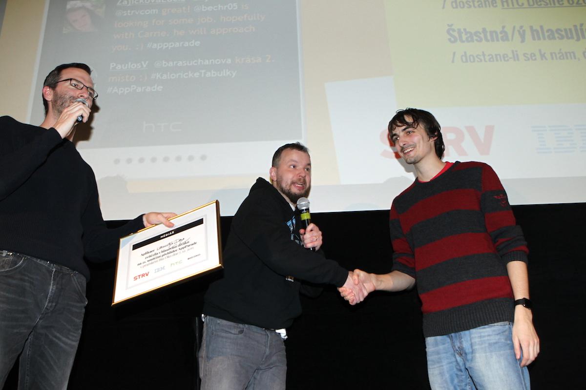 Vítěz Jan Plešek. Foto: Tomáš Pánek