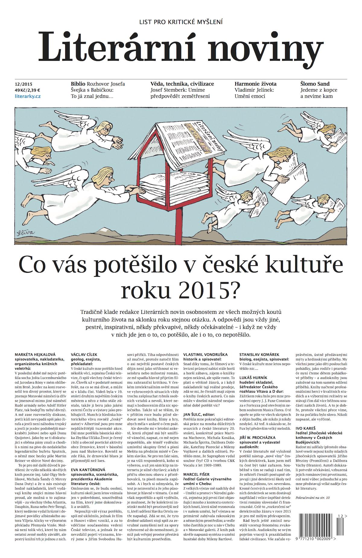 Nová podoba Literárních novin