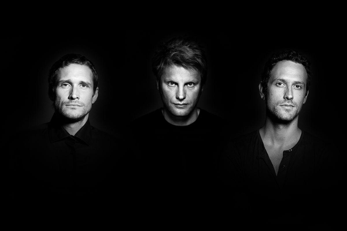 Tým Nomads. Zleva Petr Skala, Martin Kermes a Martin Jedlička