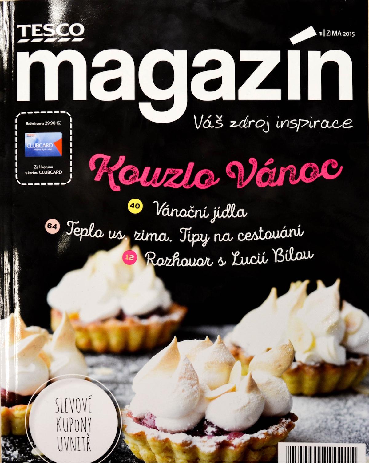 Tesco magazín