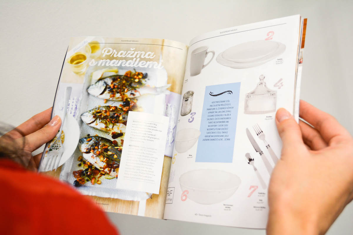 Tesco magazín se zaměří i na recepty