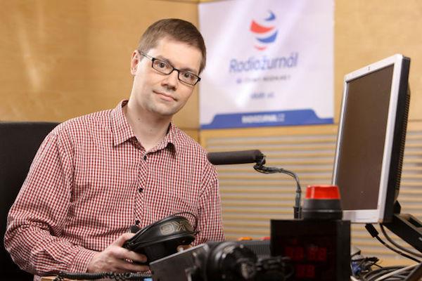 Tomáš Pancíř. Foto pro Český rozhlas: Karel Šanda