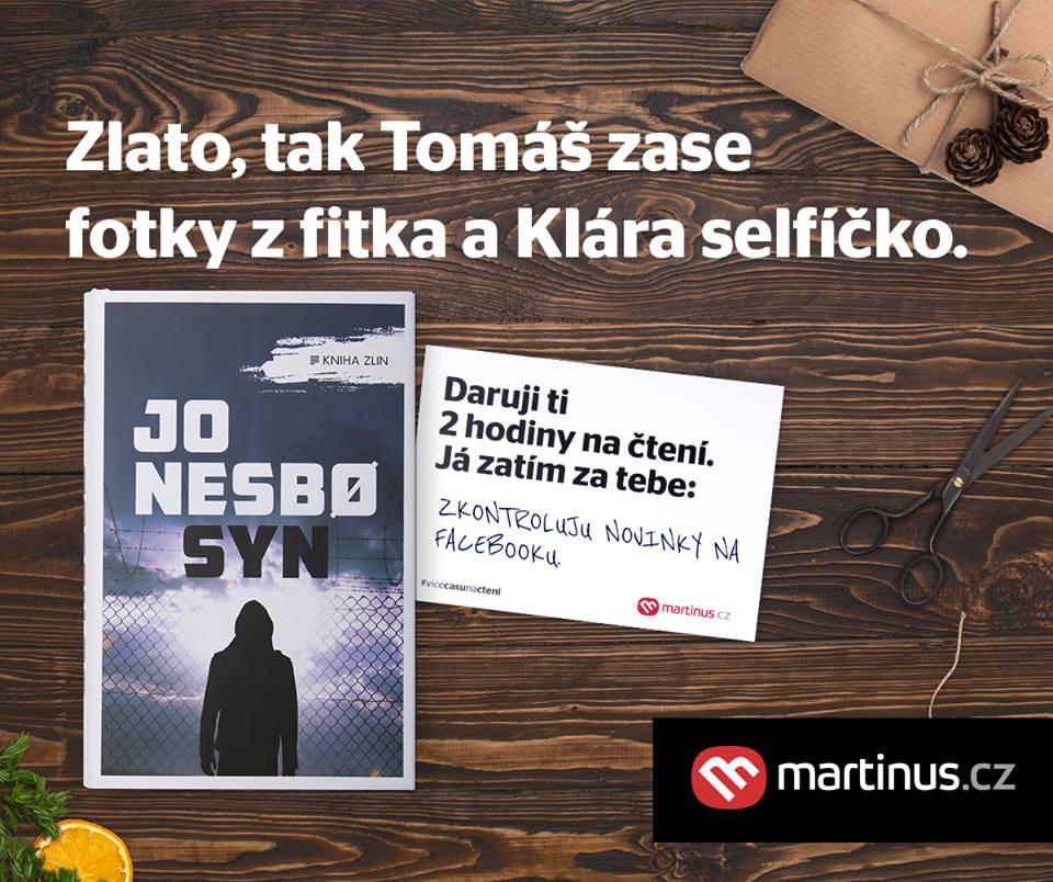 Reklamní kampaň e-shopu Martinus.cz