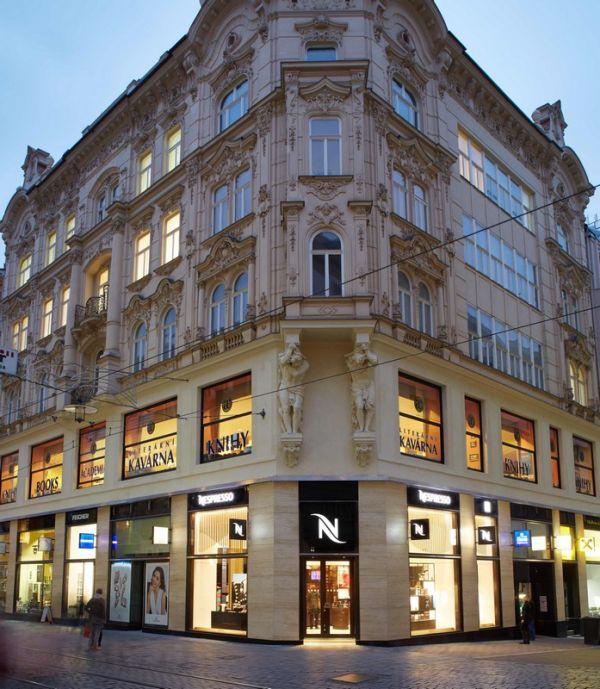 Nová prodejna značky Nespresso na brněnském náměstí Svobody