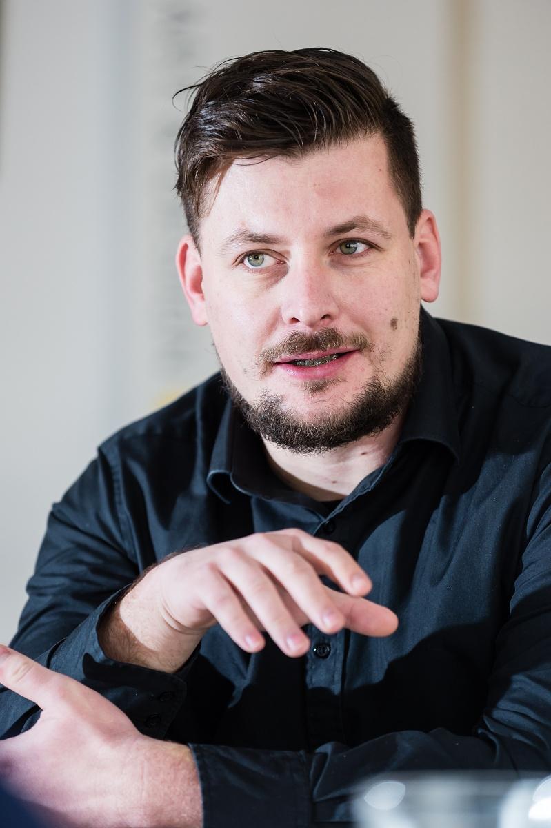 Lukáš Hnilička. Foto: Vojta Herout
