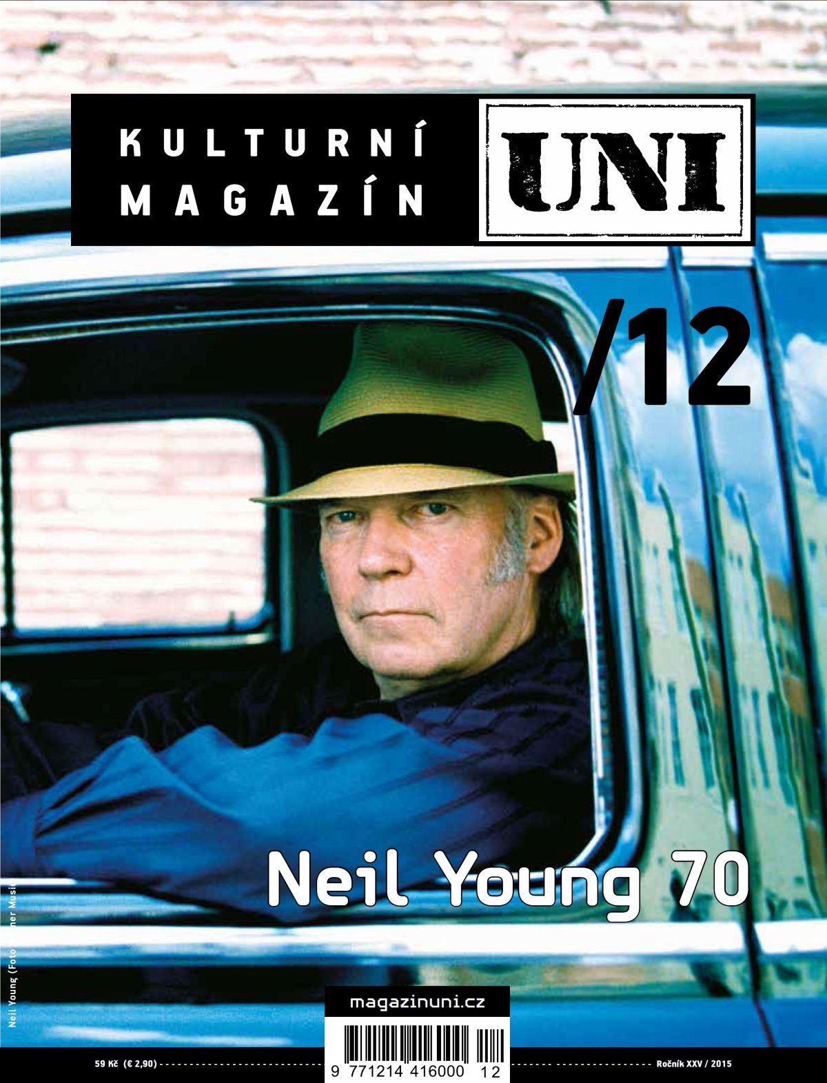 Loňské prosincové číslo magazínu, už v novém rozšířeném formátu