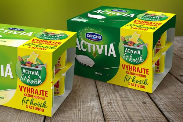 Activia mění Dark Side za Swimming Pool