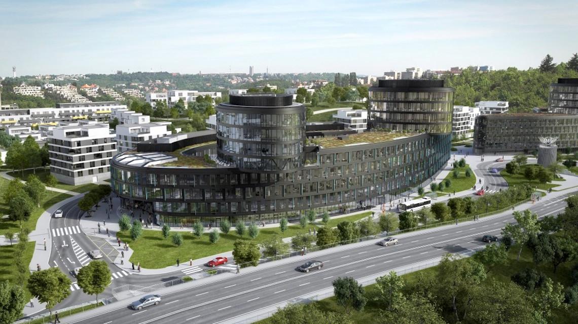 Vltava-Labe-Press se má přestěhovat do budovy Aviatica komplexu Waltrovka, který Penta buduje nad pražskou Radlickou