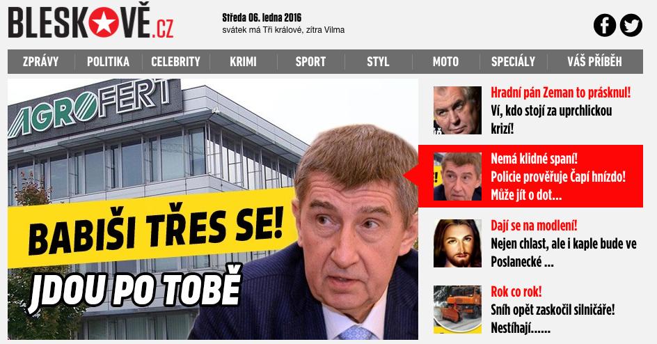 Nová podoba Bleskově.cz