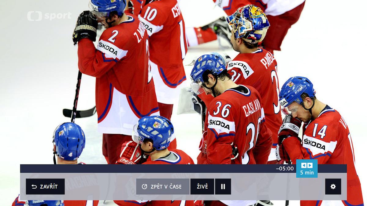 Timeshift, tedy možnost posunu, nabídla Česká televize ve svém vysílání loni, v roce 2015