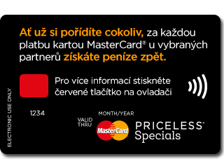 Říjnová kampaň MasterCard v hybridním vysílání televize Prima