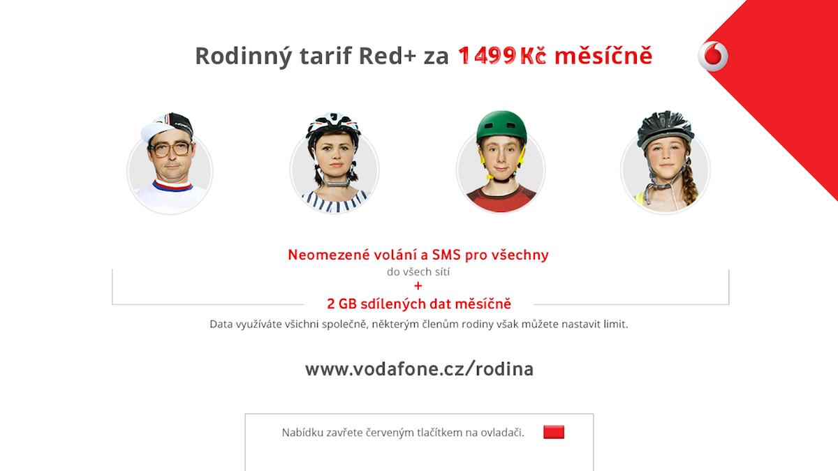 Zářijová kampaň Vodafonu v hybridním vysílání televize Prima