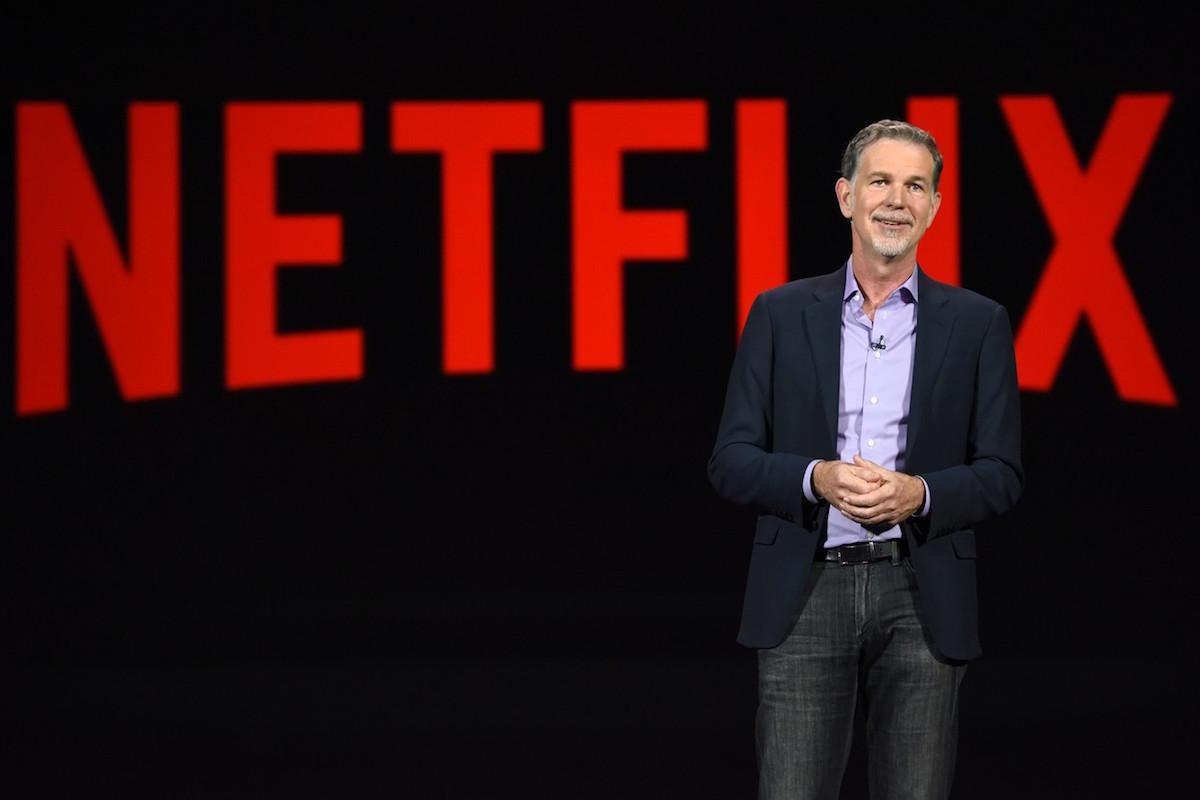 Reed Hastings oznámil celosvětovou expanzi Netflixu na konferenci v Las Vegas. Foto: Profimedia.cz, AFP