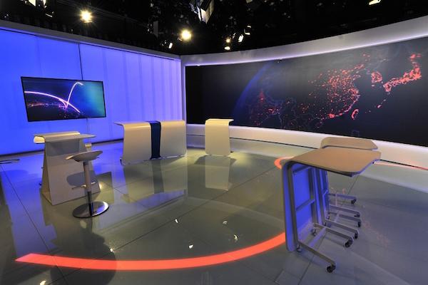 Zrekonstruované Studio 6 umožní nabízet zpravodajské pořady ve vysokém rozlišení (HD)