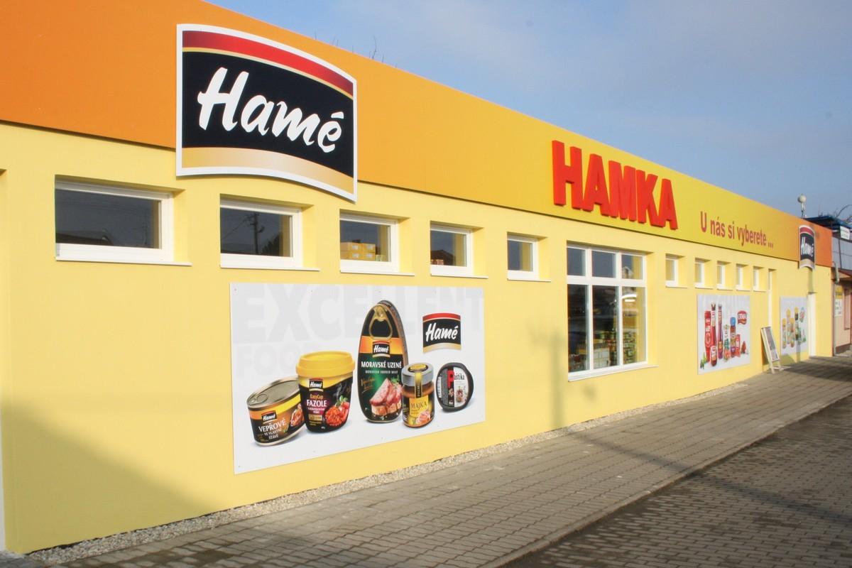 Jedna ze tří prodejen Hamka v Babicích. Foto: Hame.cz