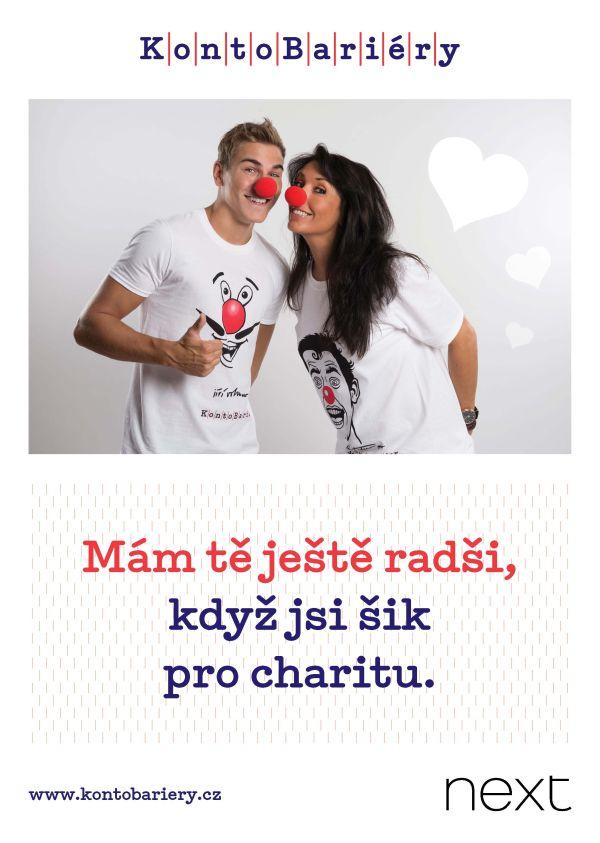 V kampani pro Konto Bariéry vystupují David Gránský a Eva Čížkovská
