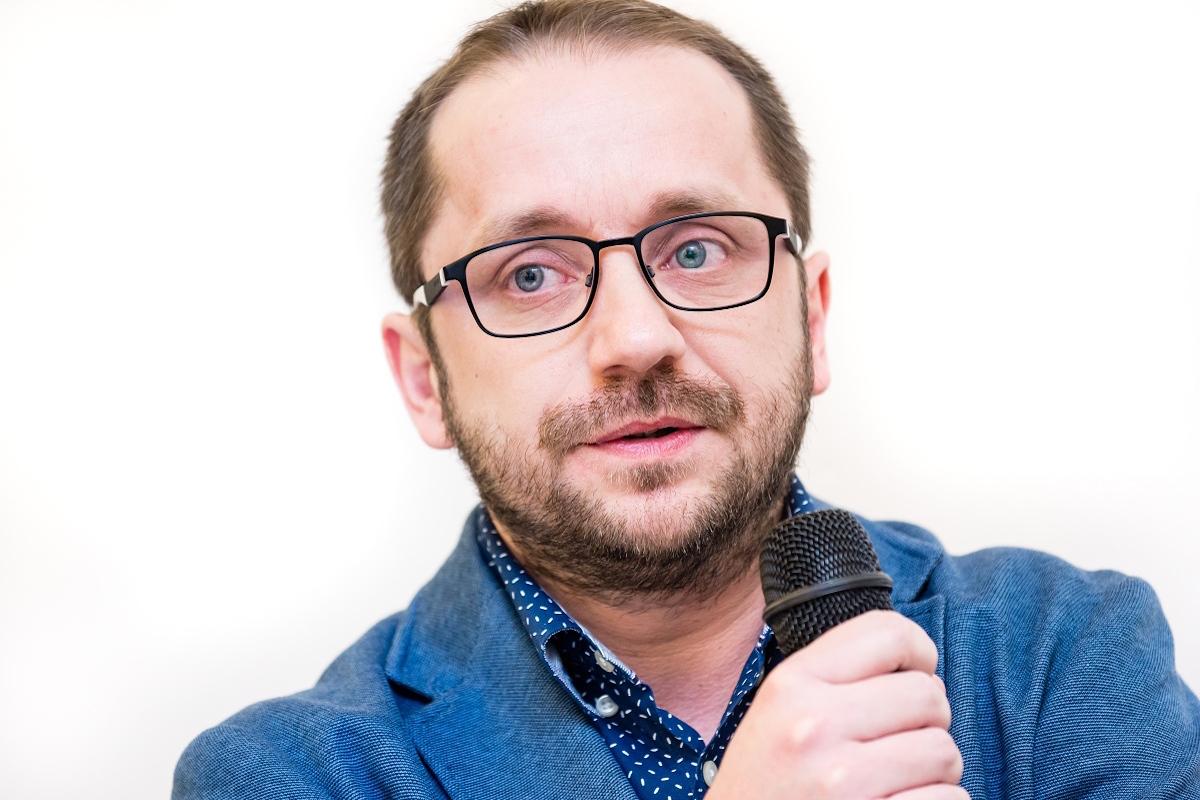 Martin Křivský představil AMI Digital dnes na Digiveletrhu. Foto: Vojta Herout