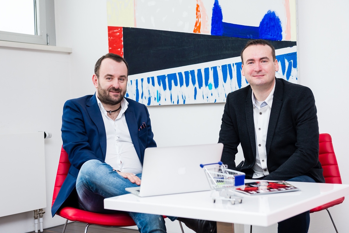 Michal Bařina (vlevo) a Martin Boček. Foto: Vojta Herout