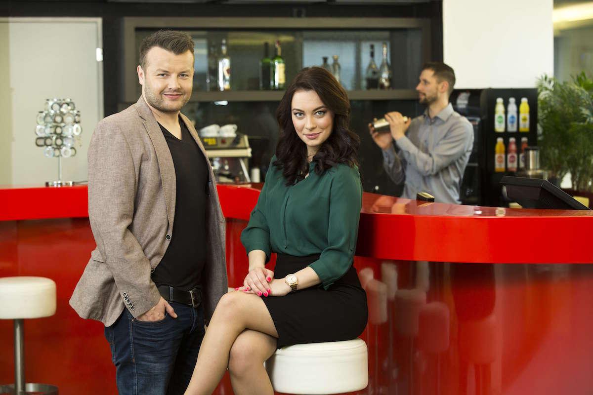 Michal Čoudek a Veronika Petruchová. Foto: TV Nova