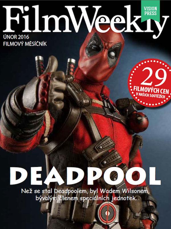 Titulní strana nového měsíčníku FilmWeekly