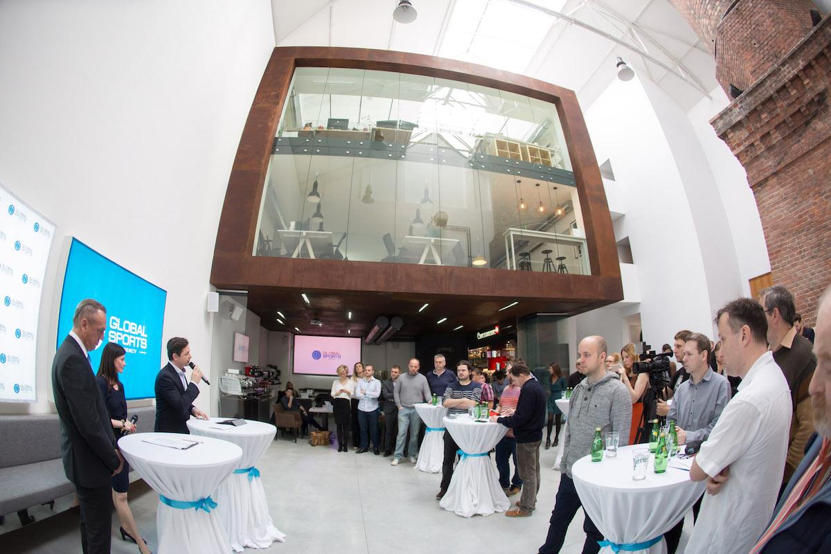 Agentura Global Sports byla představena a sídlí v karlínské Kotelně 55. Foto: Global Sports