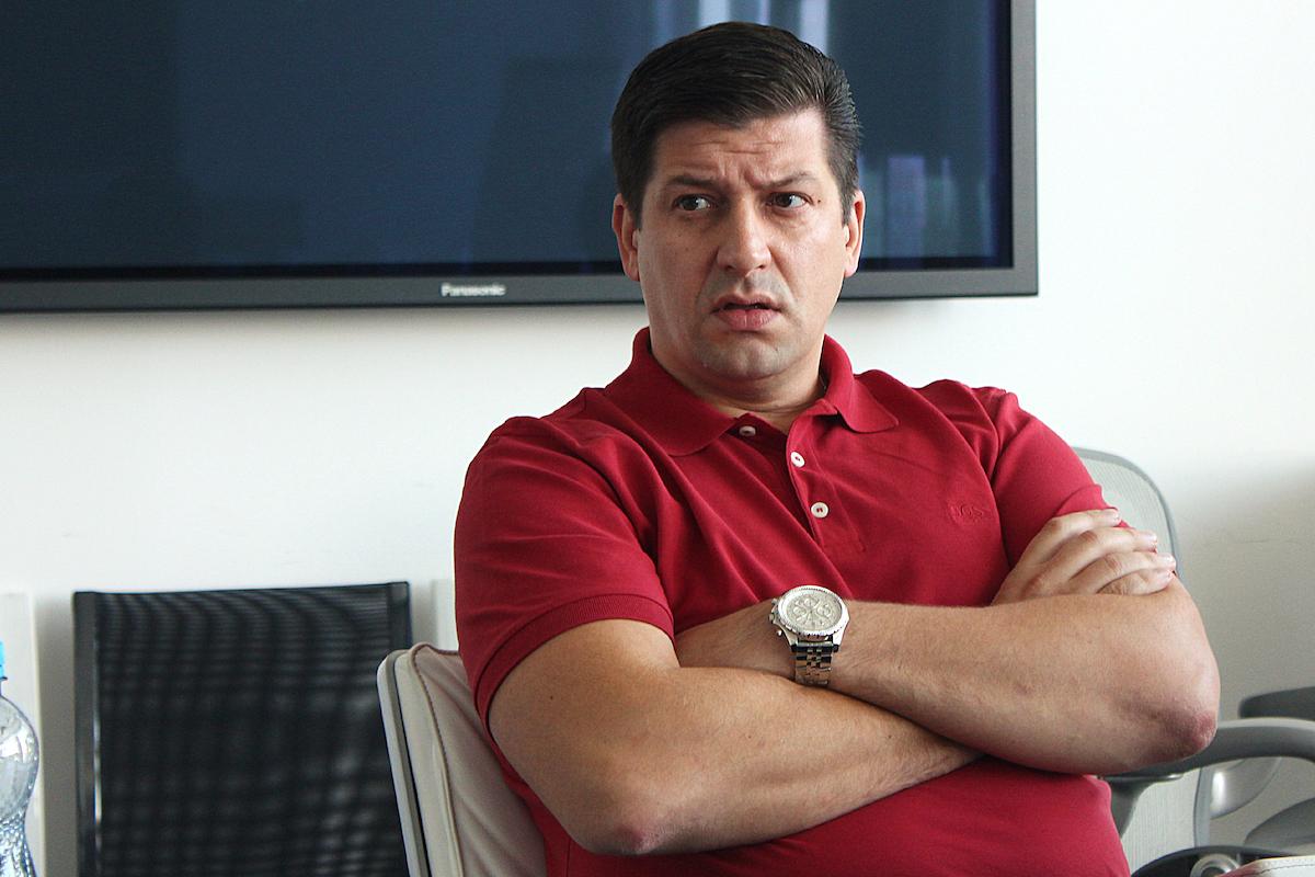 Jan Andruško před několika lety jako ředitel televize Nova