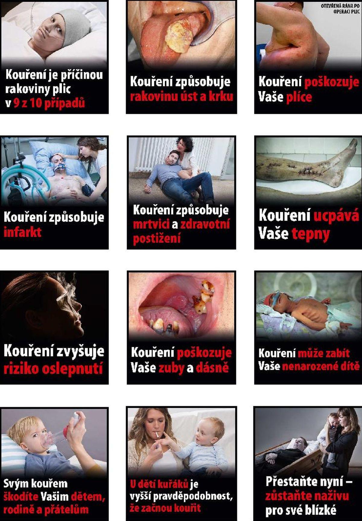 Knihovna schválených obrazových varování