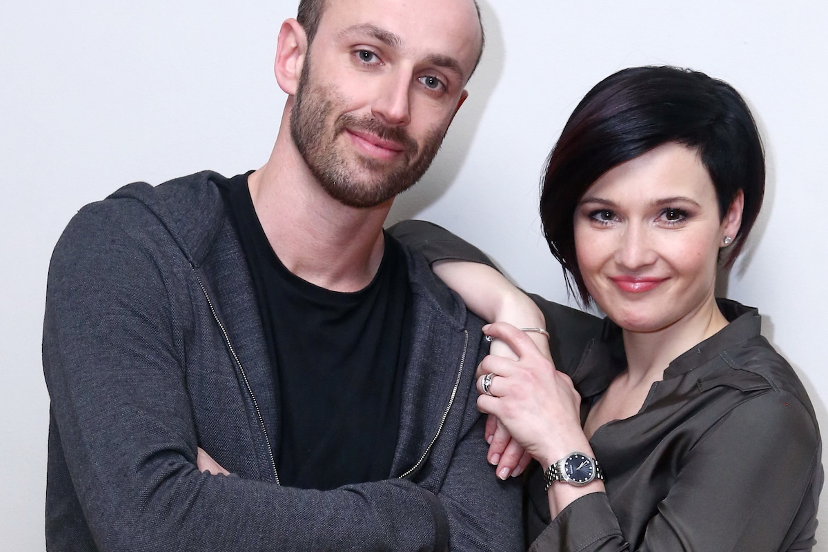 Marek Povolný a Andrea Hylmarová