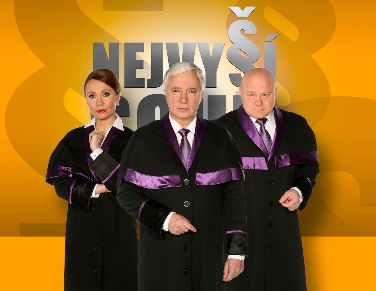 Nejvyšší soud. Foto: TV Barrandov