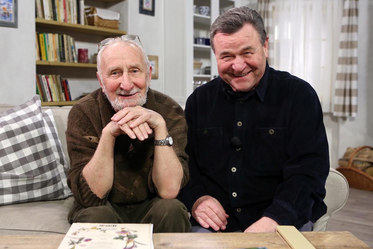 Václav Větvička a Václav Postránecký v nové verzi Receptáře. Foto: TV Prima